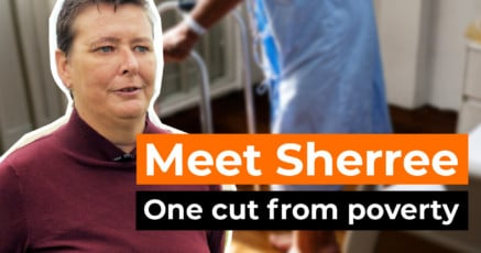Meet Sherree: one cut from poverty